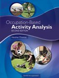 Occupation Based Activity Analysis Second Edition