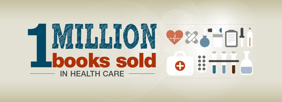 1 Million Books Sold in Healthcare