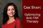 Case Study: Optimizing Anti-TNF Therapy