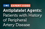 Antiplatelet Agents for Secondary Prevention of Thrombotic Cardiovascular Events in Patients with History of Peripheral Artery Disease
