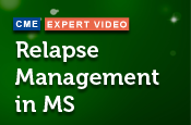 Relapse Management in MS