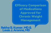 Efficacy Comparison of Medications Approved for Chronic Weight Management