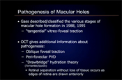OCT Prognostic Factors in Macular Hole Surgery