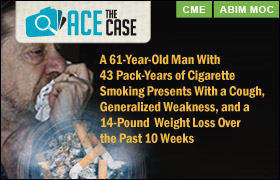 Ace the Case: A 61-Year-Old Man With 43 Pack-Years of Cigarette Smoking Presents With a Cough, Generalized Weakness, and a 14-Pound Weight Loss Over the Past 10 Weeks
