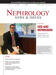 Nephrology News & Issues