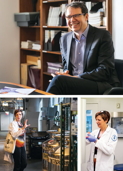 Michel Sadelain, MD, PhD, and Isabelle Rivière, PhD