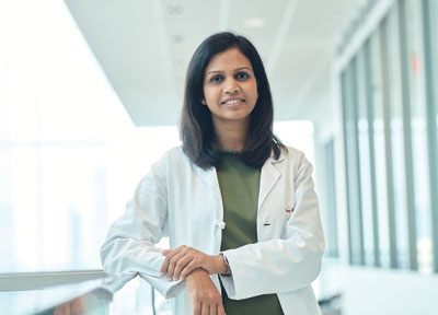 Liquid biopsies can identify residual circulating tumor DNA in the bloodstream after starting therapy, an indication that patients are more likely to relapse, according to Charu Aggarwal, MD, MPH.