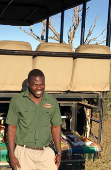 Austin, our guide at Botlierskop Private Game Reserve, showed Botlierskop's commitment to customer service.