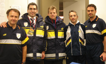 MCF medical and physiotherapy team