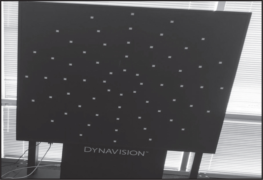 The Dynavision D2 light board (Dynavision International LLC).