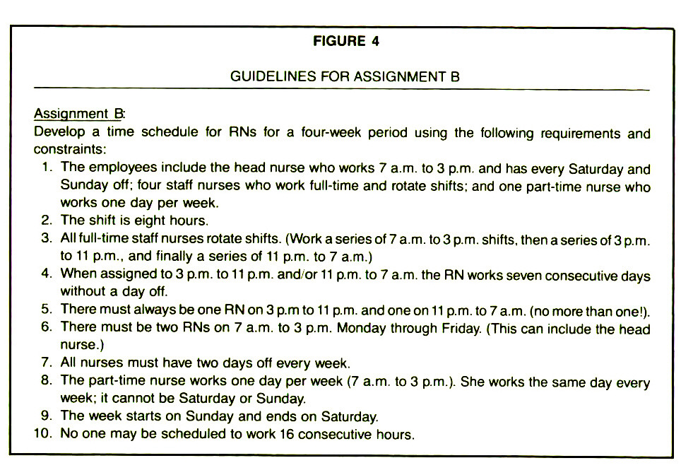 FIGURE 4GUIDELINES FOR ASSIGNMENT B