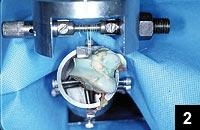 Figure 2: Mechanical testing jig setup
