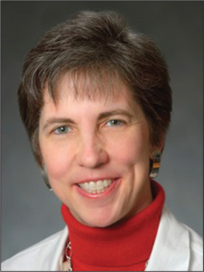 Kristy L. Weber, MD. [Photograph courtesy of Dr Weber.]