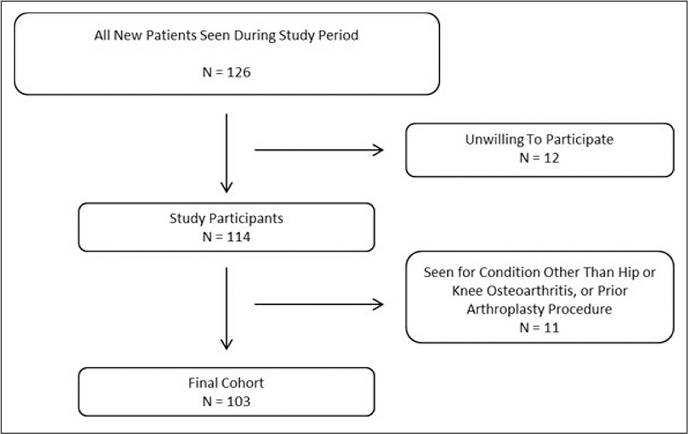 Flow diagram of patients included in the study.