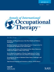 Annals of International Occupational Therapy