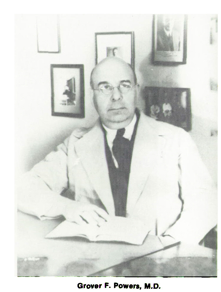 Grover F. Powers, M.D.