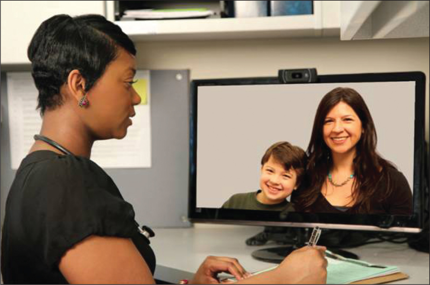 Telemental Health: A New Collaboration for Pediatricians and