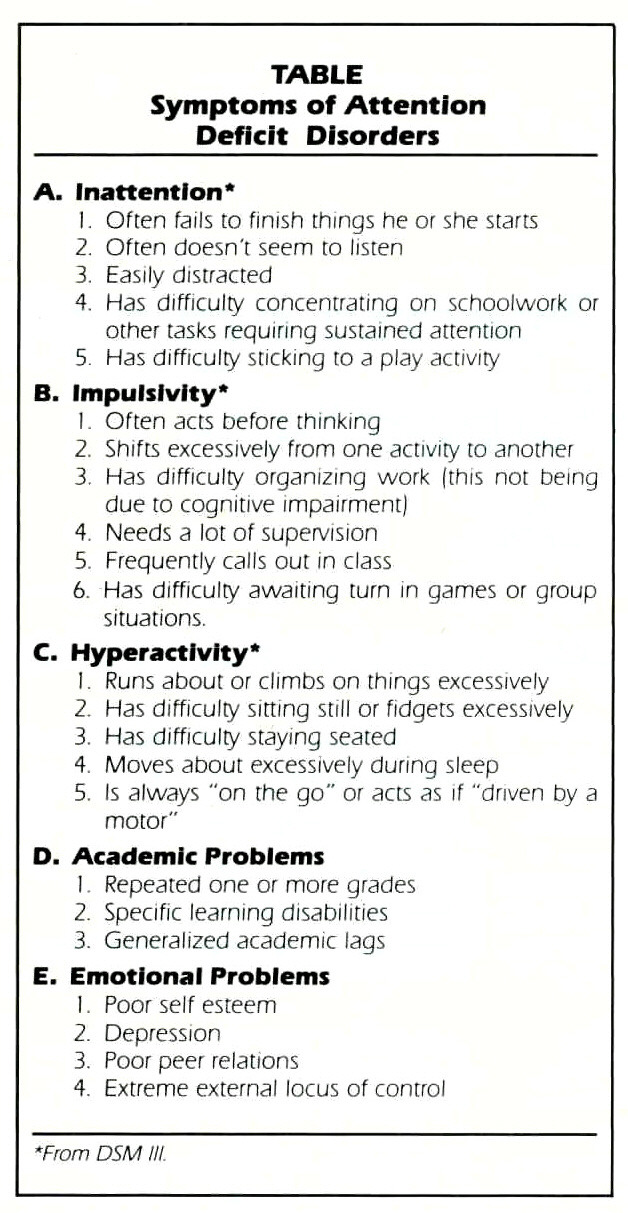journal of attention disorders pdf