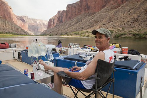 Bill Peckham, who has dialyzed in many corners of the world, decided to take his NxStage Medical SystemOnehome hemodialysis machine on an eight-day rafting trip through the Grand Canyon.