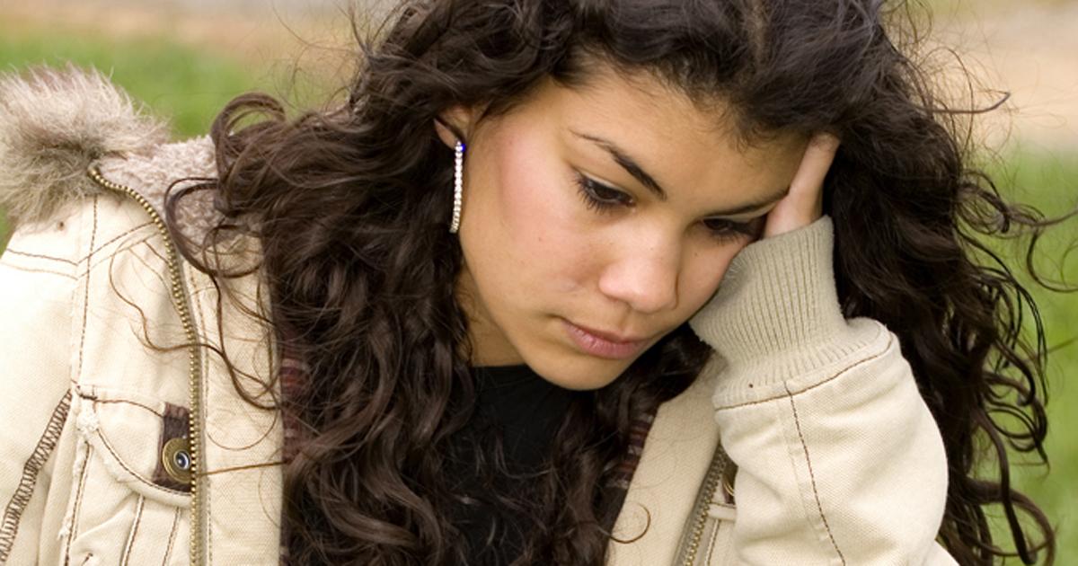 Image of upset youth